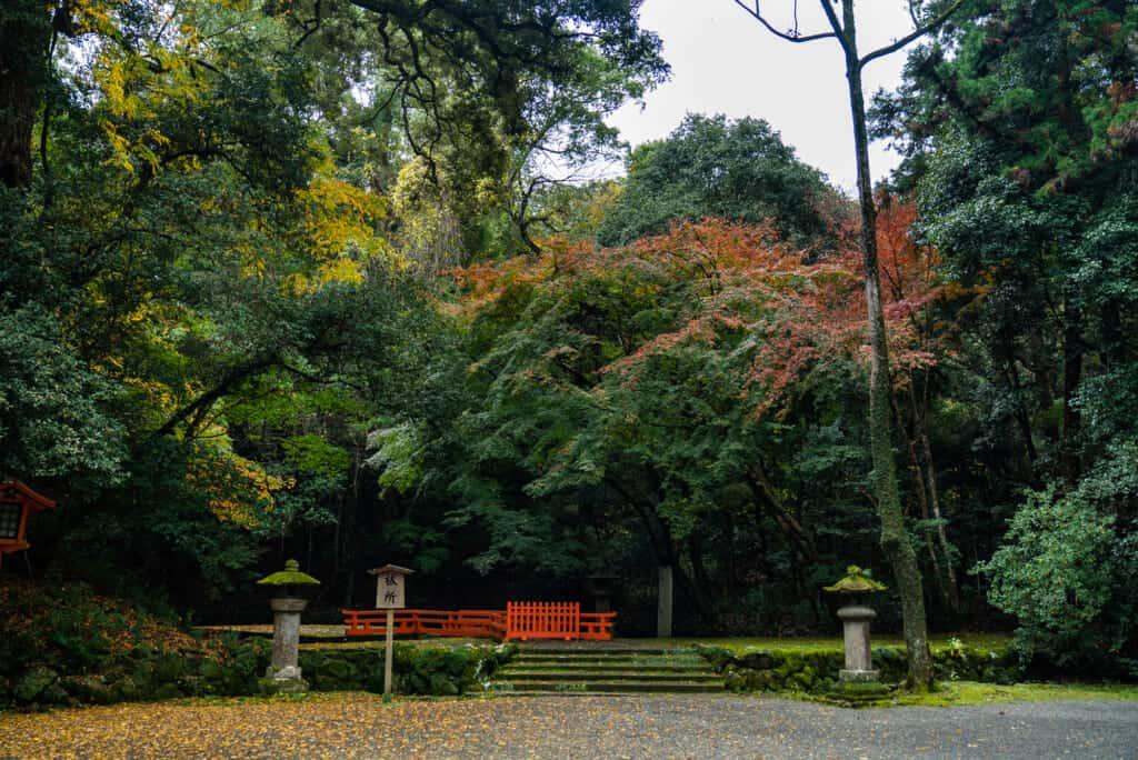 Usa jinju garden in oita prefecture