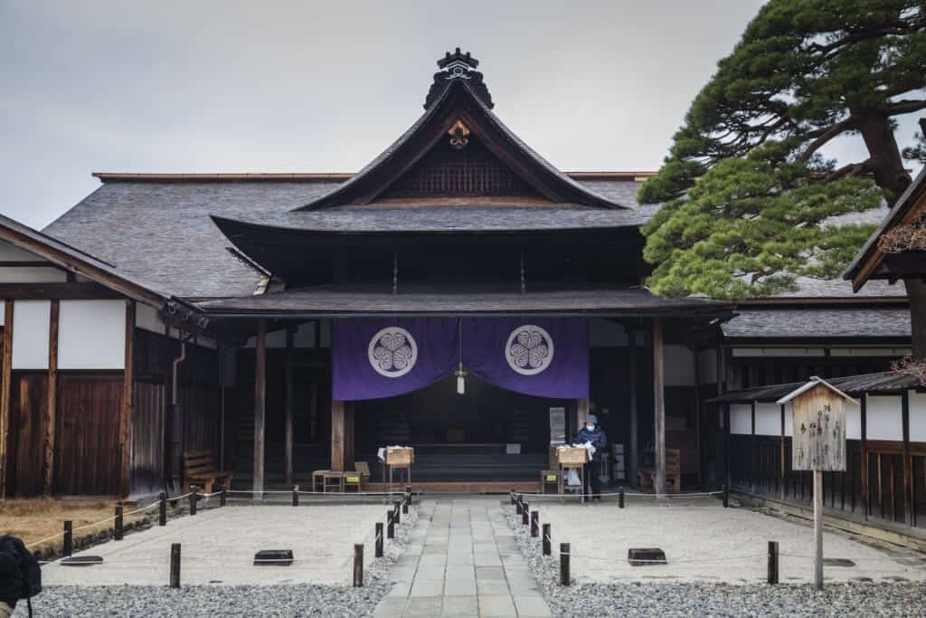 Takayama Jinya, a traditional japanese building in gifu prefecture