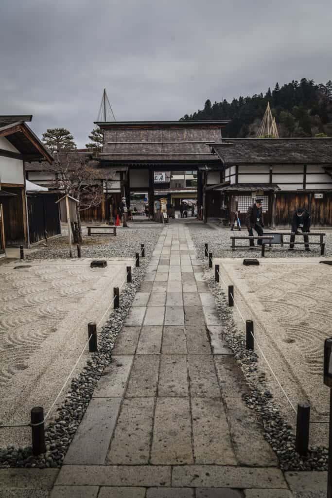 Takayama Jinya entrance