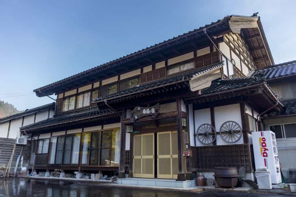 shunran no yado farmstay in japan