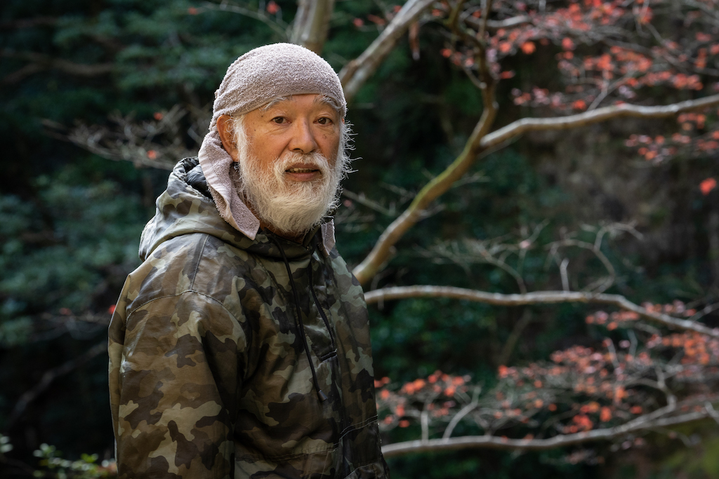 Japanese Mountain hermit in Mie prefecture