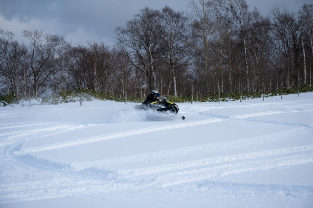 Rusutsu Snowmobile Hokkaido