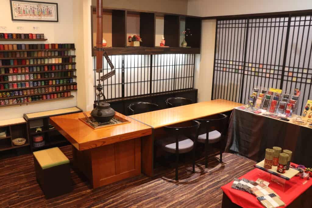 kuboki tatami workshop in Japan