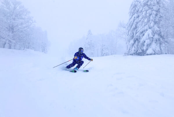 skier in Kamui Ski Links