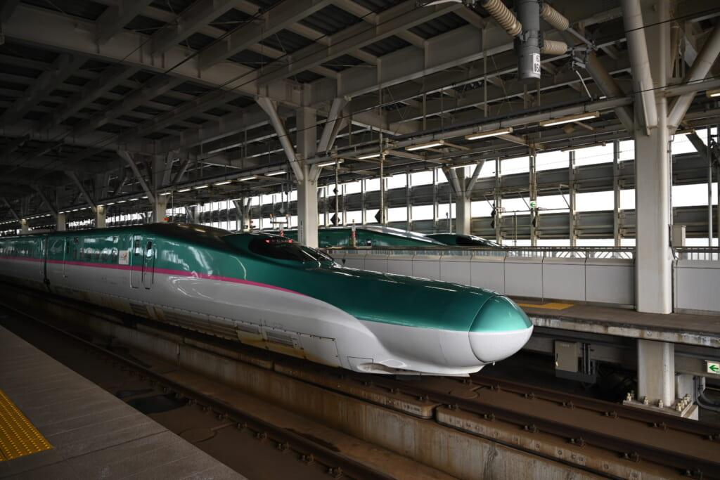 Shinkansen Hakodate Station Hokkaido