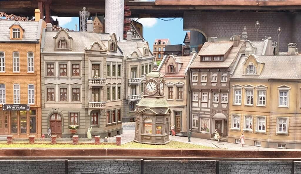 European style buildings at Global Village Area of Small Worlds Tokyo