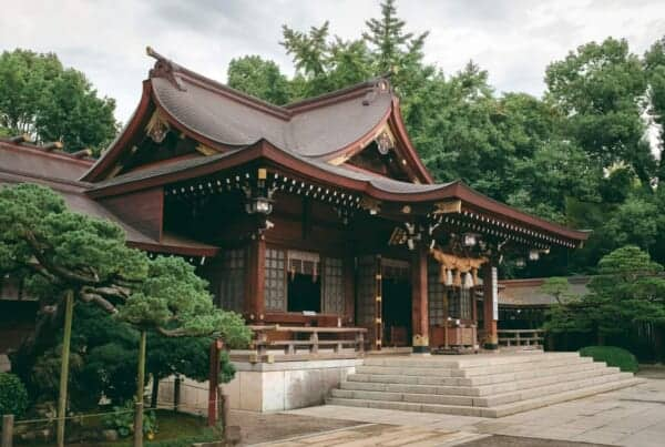 Japanese temple and shrine