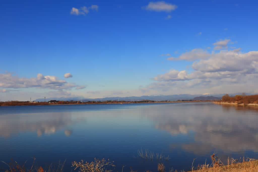 The Watarase Yusuichi reservoir: a quiet articial lake in Saitama Prefecture
