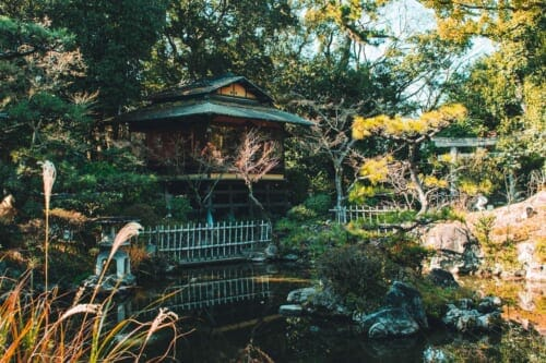Kishiwada Gofuso Garden, a traditional Japanese garden