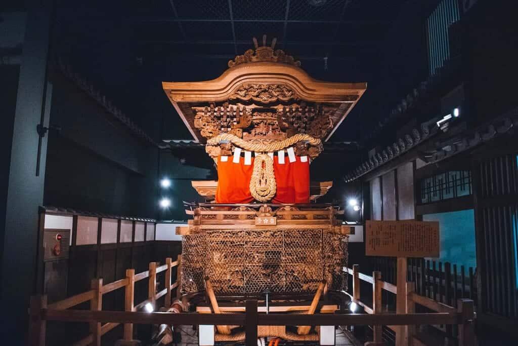 Danjiri festival cart in Japan