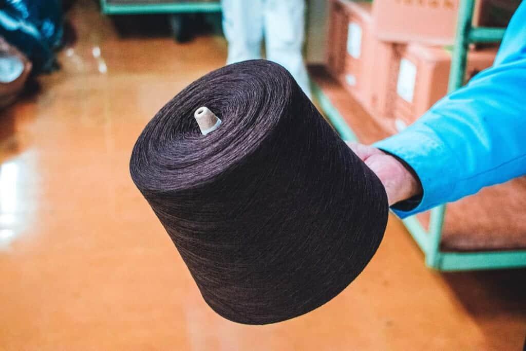 Spool of JApanese wool