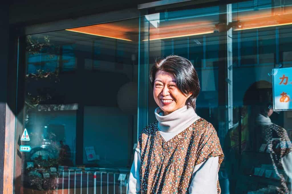 Manager of Okashishi Shiogo