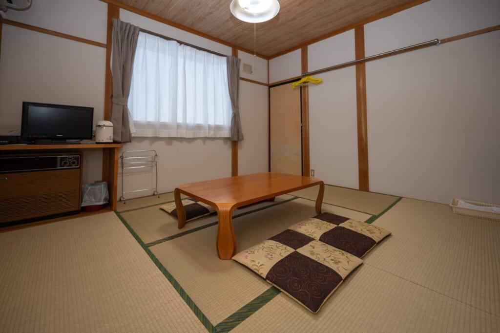japanese room at refre inn fukuzawa