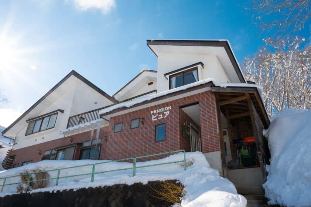 pension pure near madarao mountain ski resort