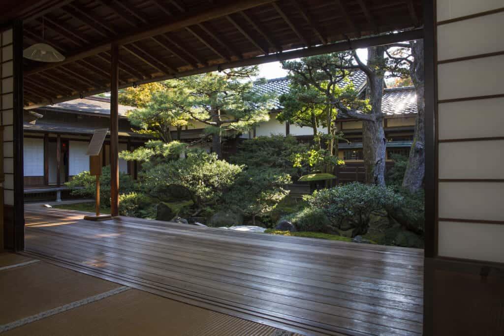 inside seisonkaku villa