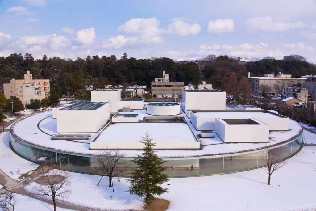 museum from above