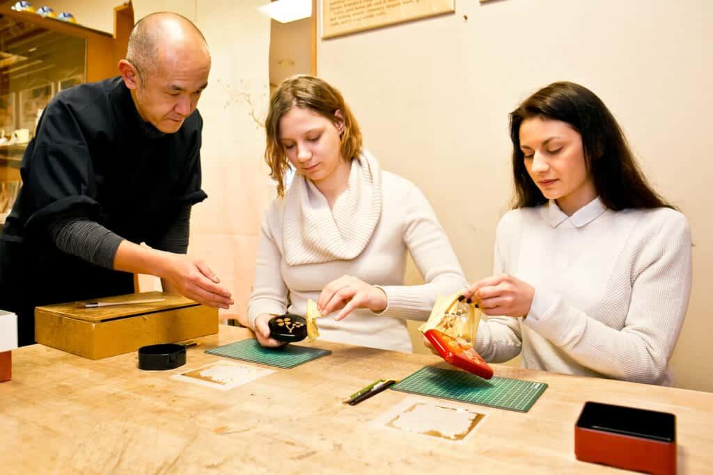 gold leaf workshop