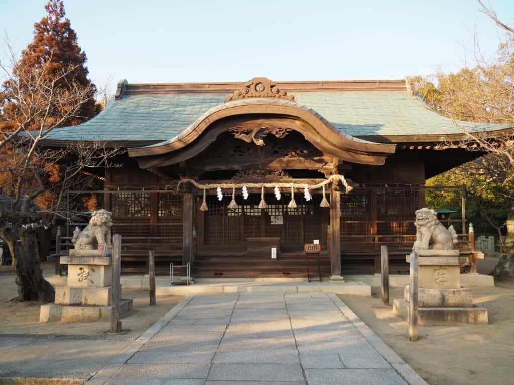 Iwatsuhime Shrine Main Hall