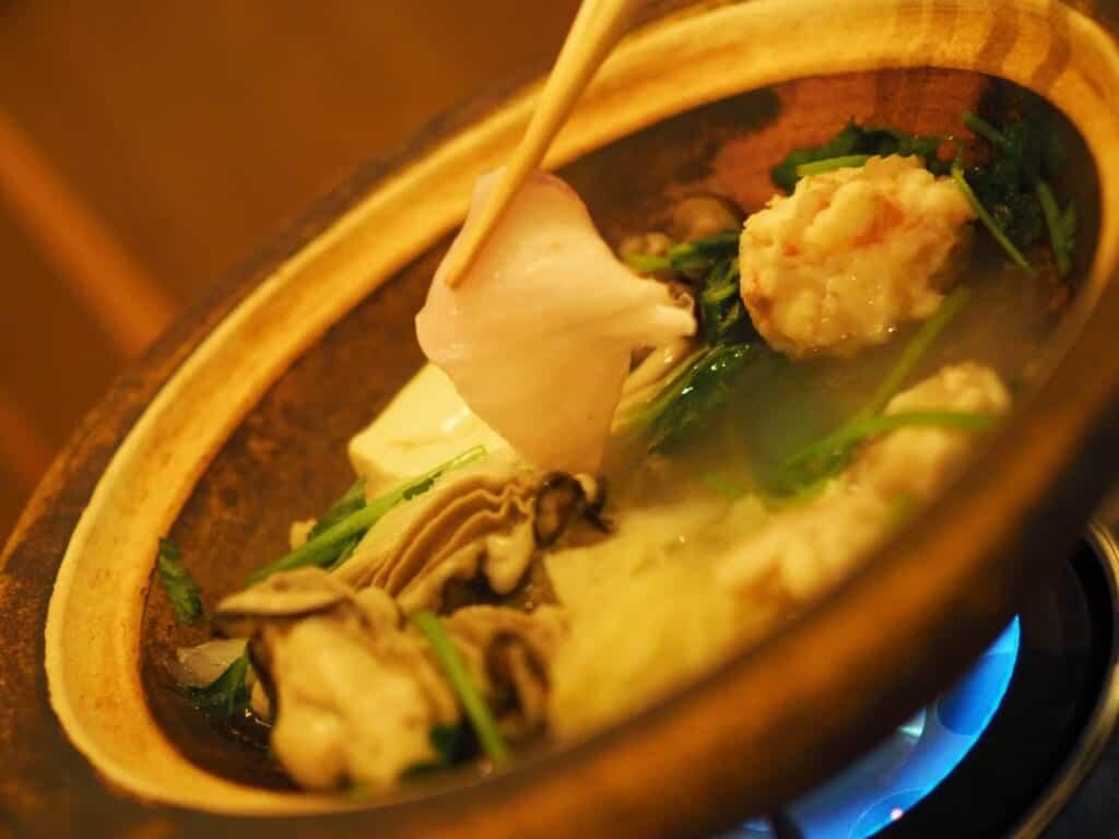 Japanese Dinner at Imaso