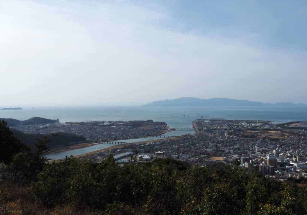 View of Ako City
