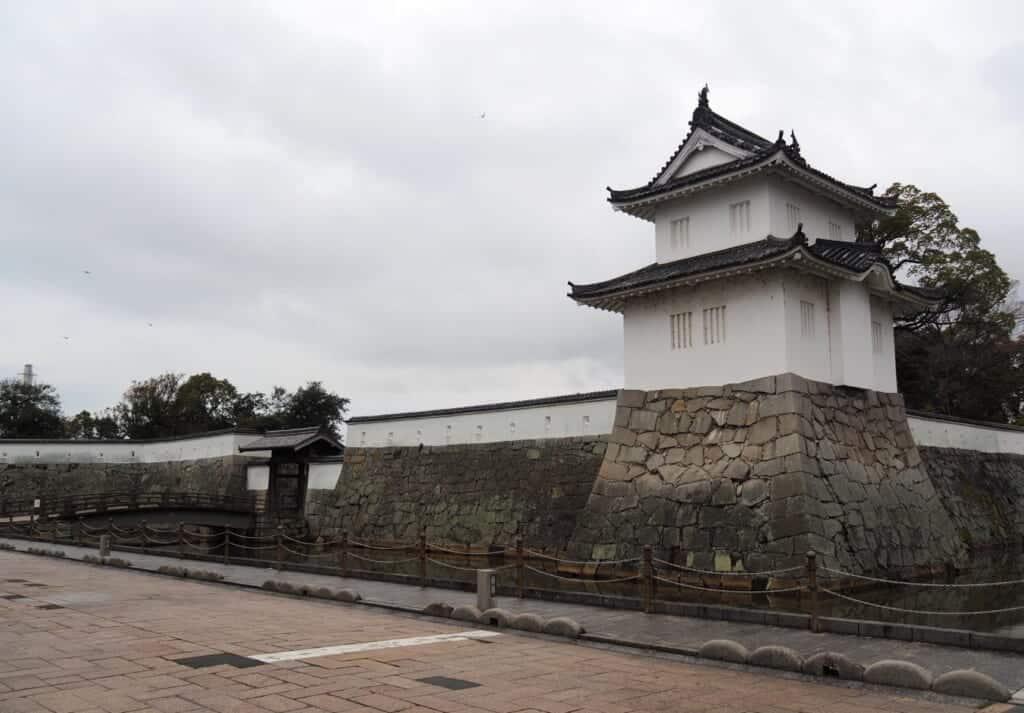 Walls of Ako Castle