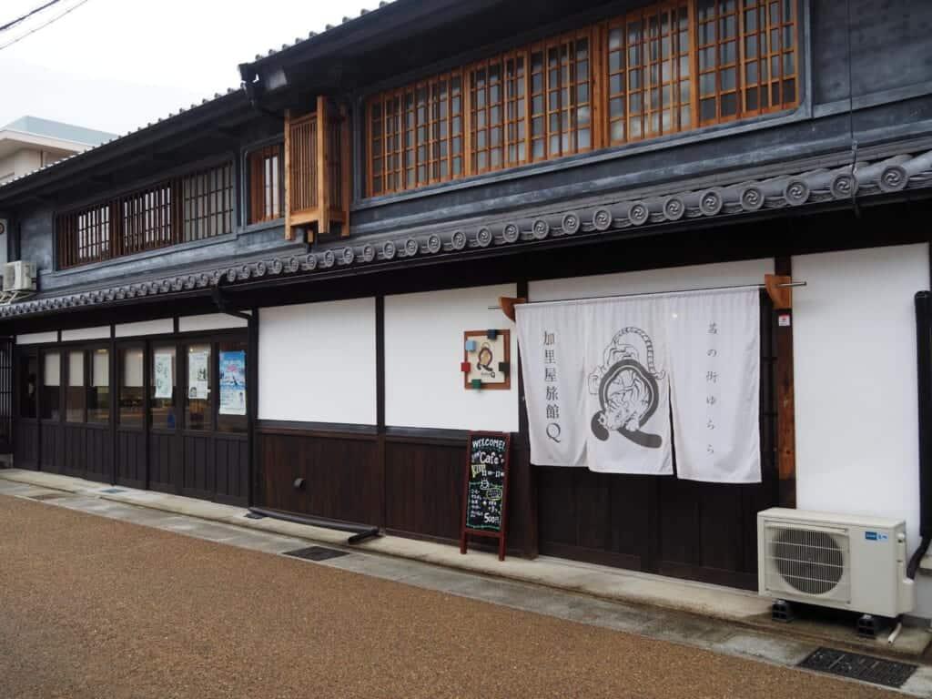 Kariya Ryokan Q entrance