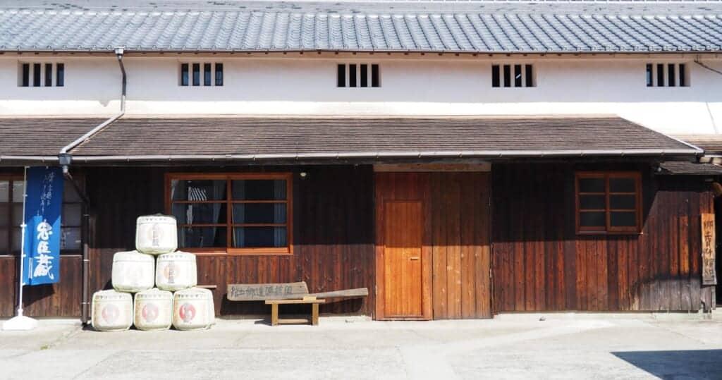 Ota Sake Brewery in Japan