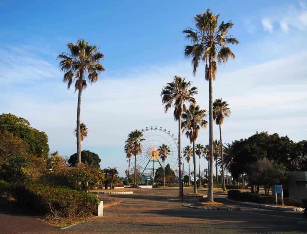 Ferris wheel at Ako Seaside Park