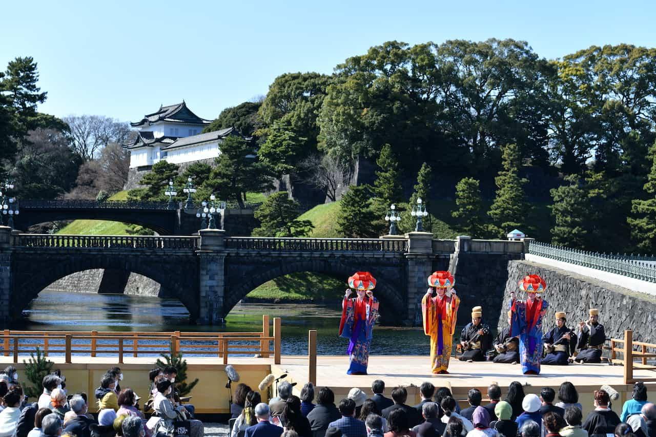 Japanese Prayers through Noh Masks and Okinawan Dances