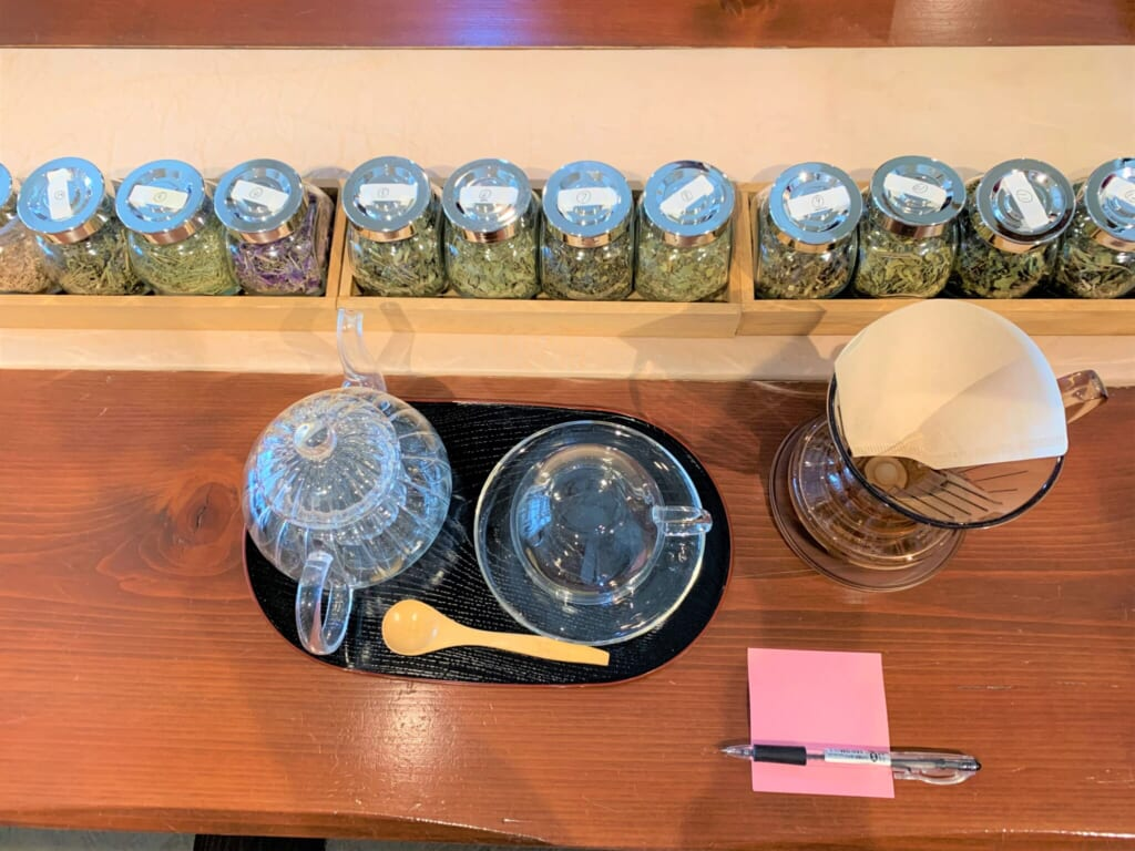 infusion of traditional Hida medicinal herbs in Japan