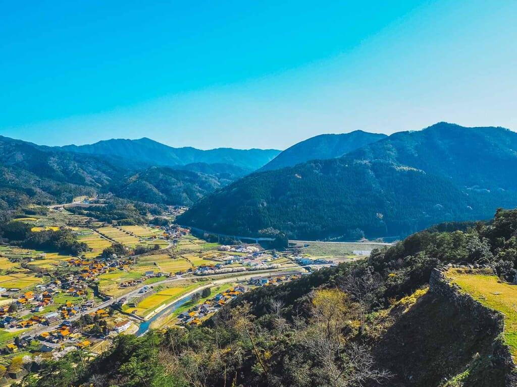 The stunning scenery around Tsuwano in Japan