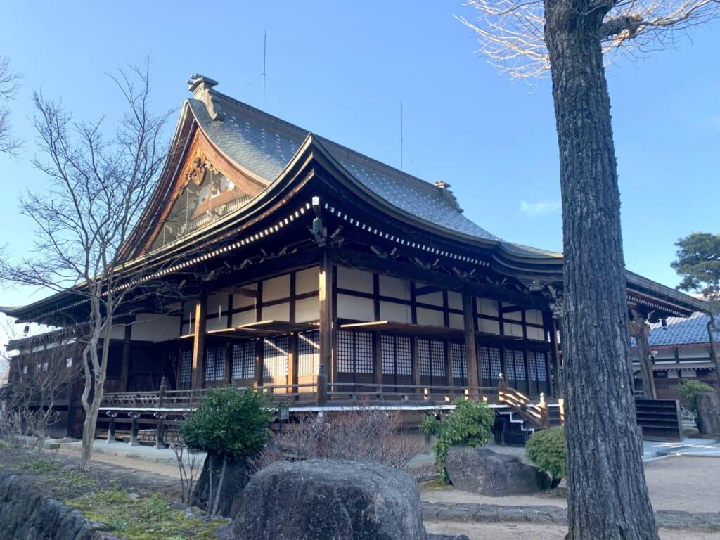 Enko-ji temple, a traditional Japanese style building in Gifu, Japan
