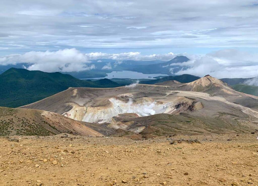 At the peak of Mount Meakan