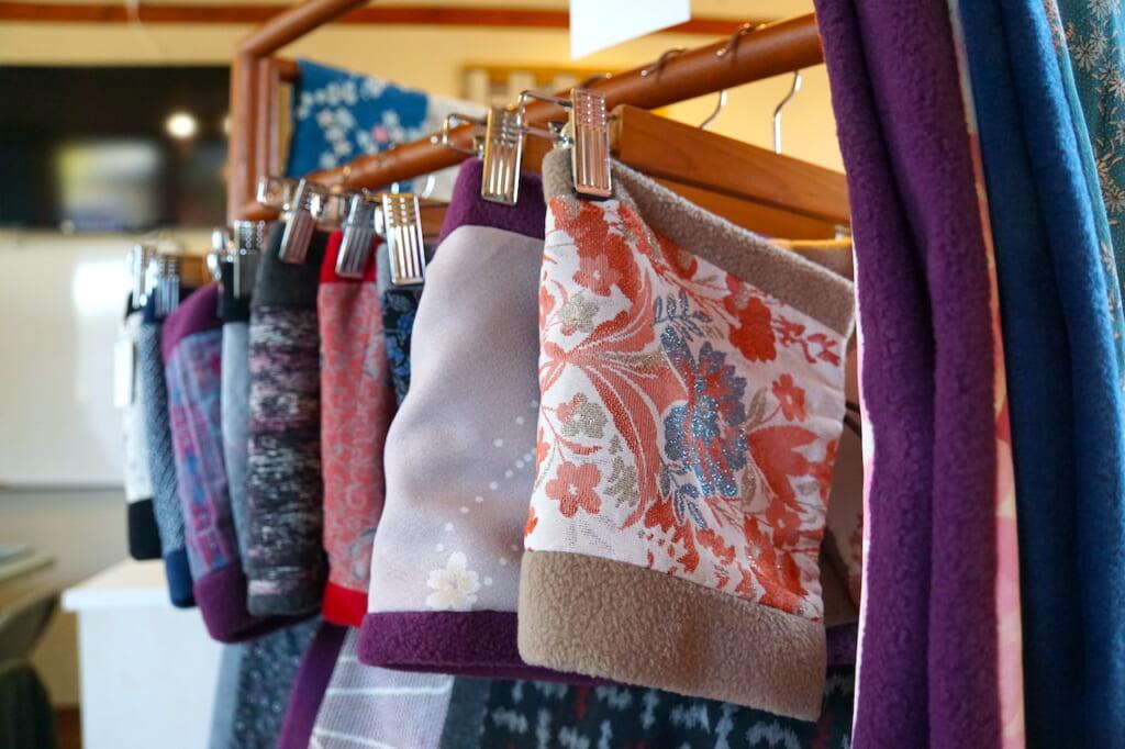 handmade neck warmers in Japan