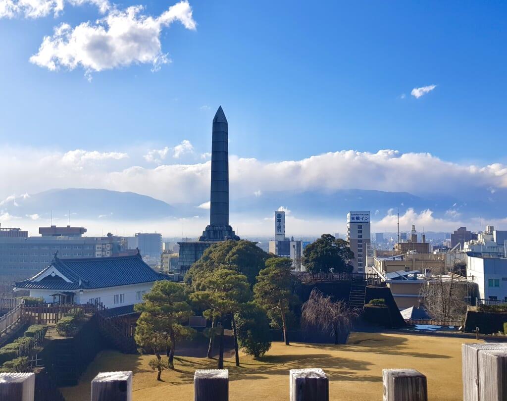 The view from Maizuru Kofu castle