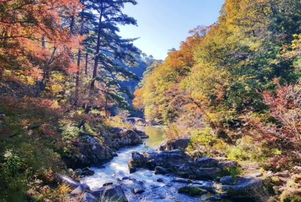 Shosenkyo Gorge
