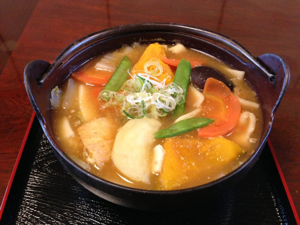traditional Japanese food and hot pot