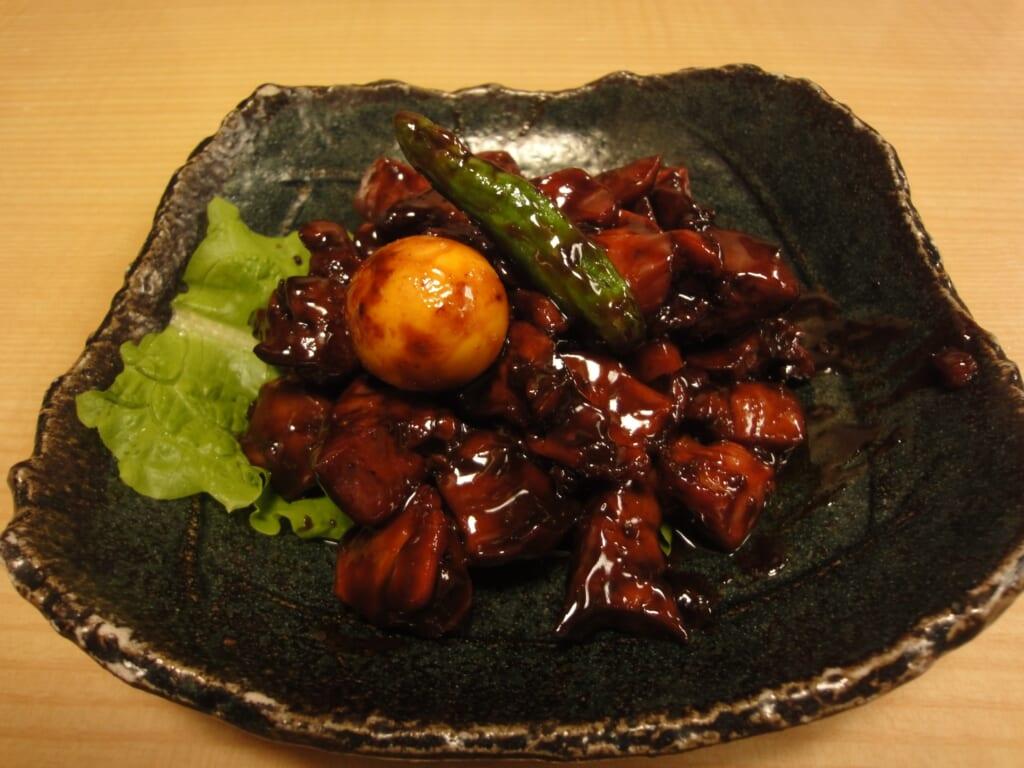 Torimotsuni, unusual food to try in Kofu