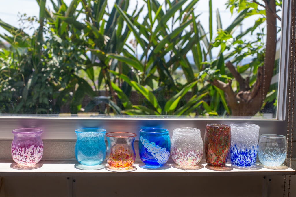 different types of okinawan glasses