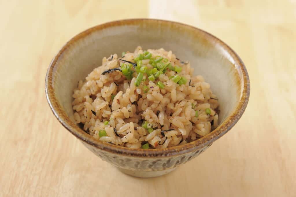 Jushi, okinawan fried rice in Japan