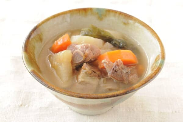 Sookijiru, a healthy okinawan food in Japan