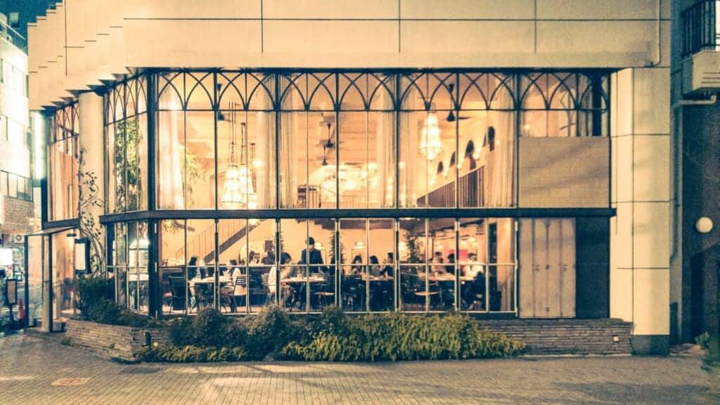 Restaurant La Boheme in Shinjuku, Japan