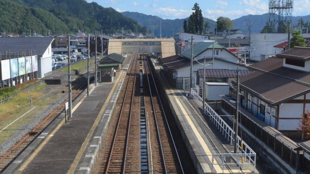 Hida Furukawa train station