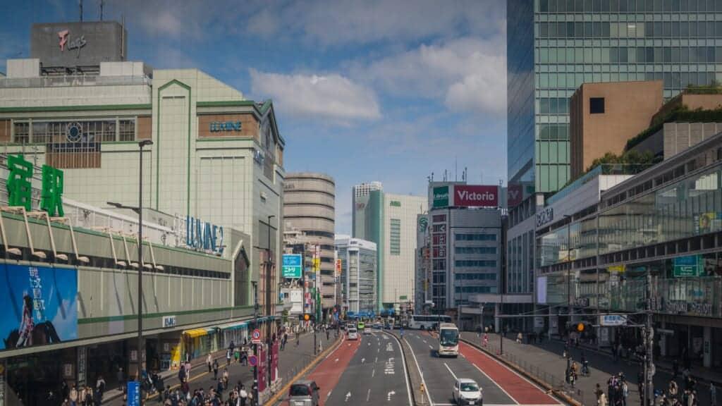 Shinjuku Station in Japan