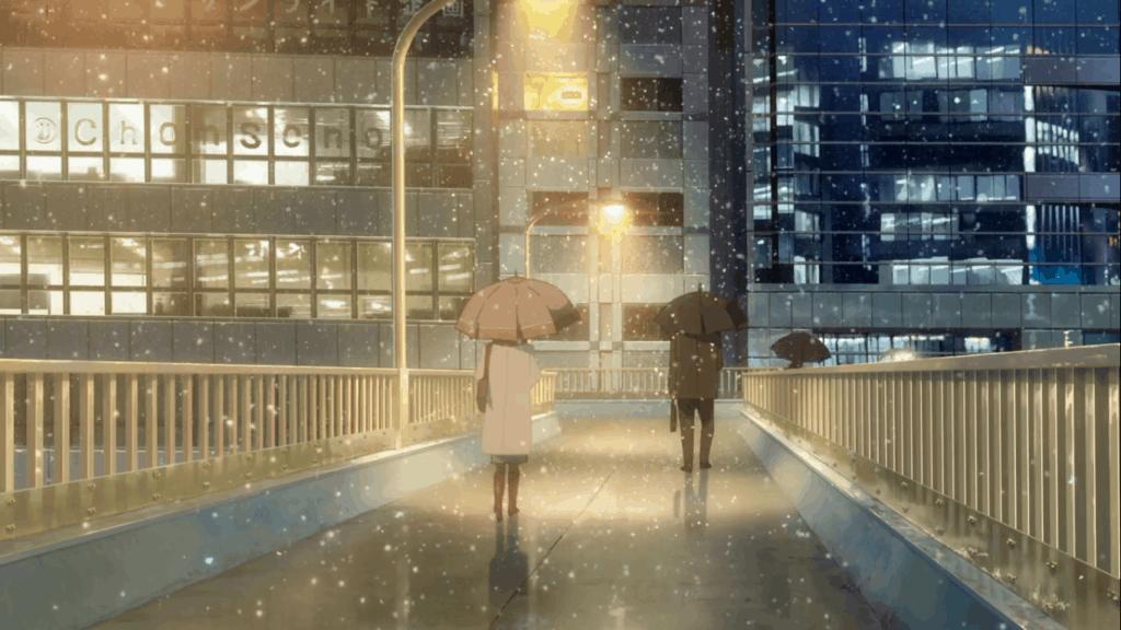 Scene of Your Name in Shintoshin Bridge