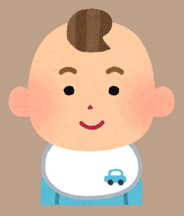 Baby boy illustration