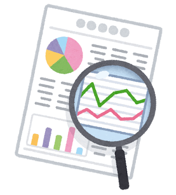 Illustration of statistical analysis report
