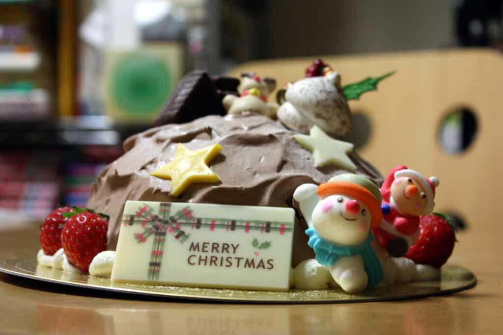 A Japanese Christmas cake