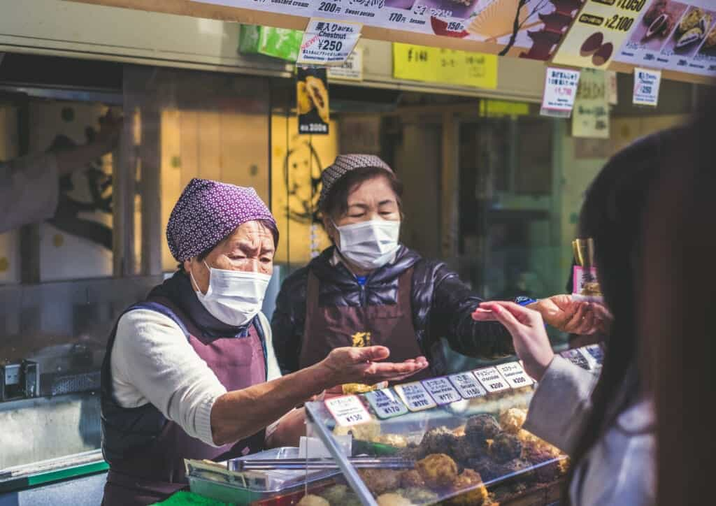 Wearing masks in Japan is something normal