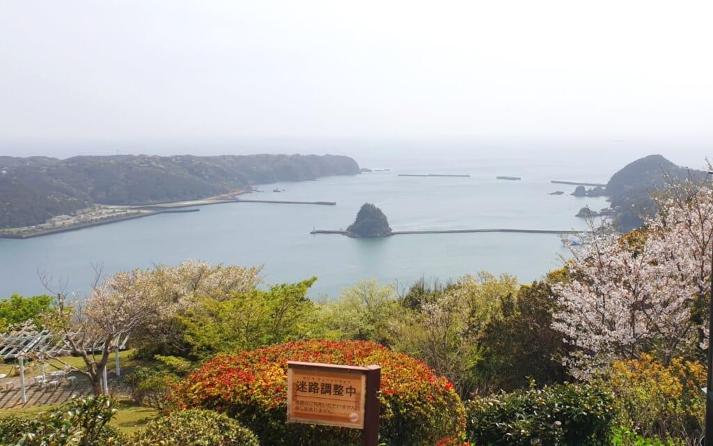 View of Shimoda in Japan